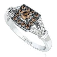 chocolate wedding rings zales chocolate ring chocolate 3 4 ct frame five
