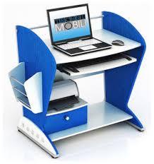 Blue Computer Desk Exciting Funky Computer Desks Images Best Ideas Exterior