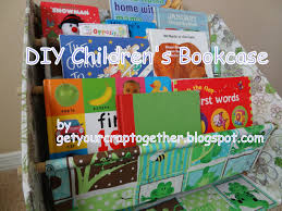 get your crap together diy children u0027s bookcase