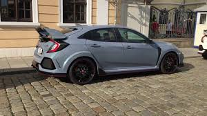 grey honda civic honda civic type r sonic grey youtube