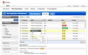 web application scanning qualys inc