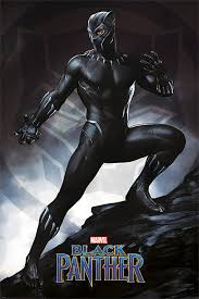 black panther marvel black panther marvel movie poster print stance size 24 x 36