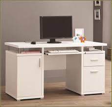 modern white filing cabinet modern white wooden computer desk with file cabinet of interesting
