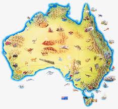 Preferidos Mapa De Localização De Animais Da Austrália, Mapa De Nova Zelândia  @IA01