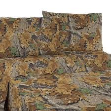 Camo Sheets Queen Camouflage Bedding Cabin Place