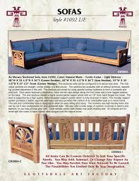 Build Your Own Sofa Sectional Arts U0026 Craftsman Sectional Sofa Western Mission Sofa Sectional