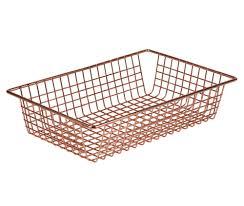 wire baskets and wire storage bins organize it