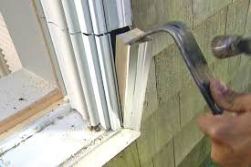 how to fix a glass door how to replace an existing window with a garden window how tos diy