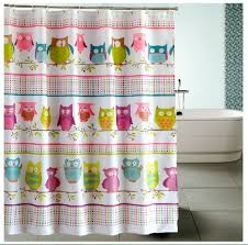 Owl Fabric Shower Curtain Best Owl Shower Curtains U2022 Curtain It