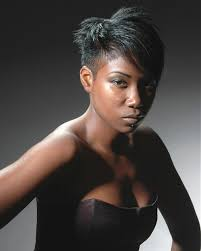 pic of black women side swept bangs and bun hairstyle black american side fringe side swept bangs best haircut style