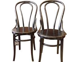 cafe chairs etsy