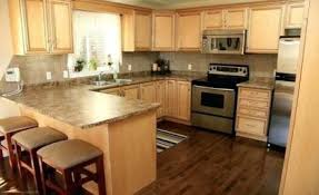 kitchen cabinets with light floor 52 ideas wood floors light cabinets spaces maple