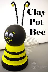 Decorating Clay Pots Kids Bee Utiful Clay Pot Craft Gardens Crafts And The O U0027jays