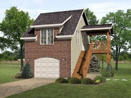 apartments garage apartment plans with deck best detached garage
