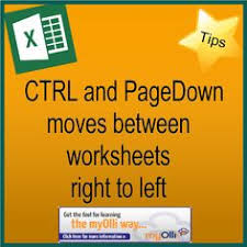 how to move on a workbook keyboard shortcuts to switch between