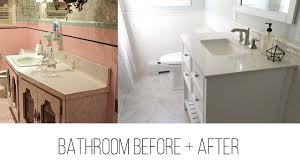 light bright bathroom makeover youtube