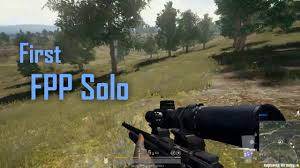 pubg fpp first fpp solo first win pubg youtube