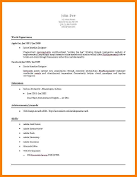quick and easy resume eliolera com