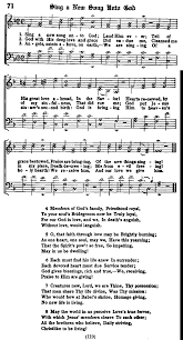 song of praise and thanksgiving topical index