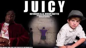 Notorious Big Meme - juicy notorious b i g versus mattyb mash up original vs
