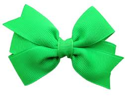 neon green bow etsy