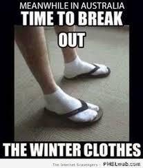 Aussie Memes - 2 funny aussie winter clothes meme pmslweb