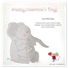 happy s day mouse happy s day elephant and mouse invitations cards on