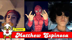matthew espinosa halloween costume spider man chat and more