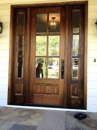 Solid Wood Exterior Doors Solid Wood Front Doors Fetchmobile Co