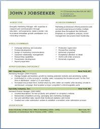 Coordinator Resume Objective Sales Resume Templates Free Resume Template And Professional Resume