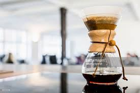 Coffee Maker Table Filter Coffee Maker On Table Stock Photo Getty Images