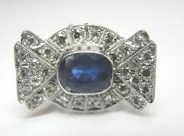 antique diamond engagement rings antique sapphire engagement