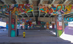 underpass park toronto transforming urban spaces with street art underpass park toronto street art