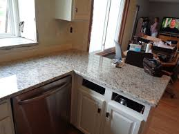 granite countertop kitchen design ideas dark cabinets picture