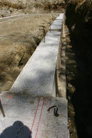 footings and frost wall poured eagle pond house