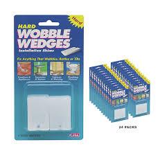 amazon com wobble wedges leveling shims set of 12 balance