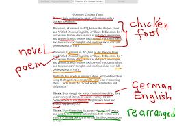 showme thesis statement chicken foot