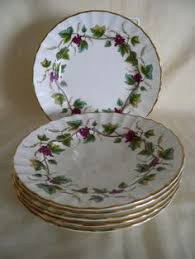 details about royal worcester pekin w9757 yellow trim handled cake