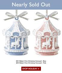 royal doulton 2014 baby s ornaments nearly sold out milled