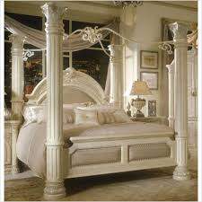 poster bed canopy alluring 4 poster bed canopy with lovely leather white sofa with