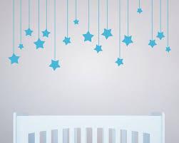 aliexpress com buy 17pcs hanging stars wall stickers for kids aliexpress com buy 17pcs hanging stars wall stickers for kids room white star baby nursery wall decals diy vinyl wall art home decor mural d858 from