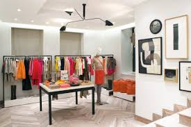 store interior design lalire march architects j crew us and japan