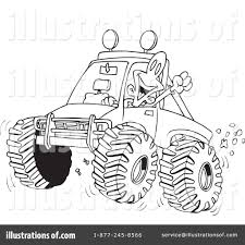 mud truck clip art four wheeling clipart 433276 illustration by toonaday