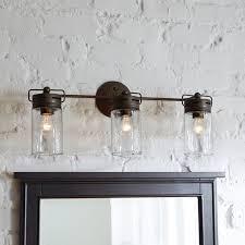 rustic bathroom vanity lights fivhter com