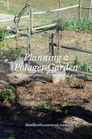 Potager Garden Layout Planning A Potager Garden Gardens Organic Gardening And Garden