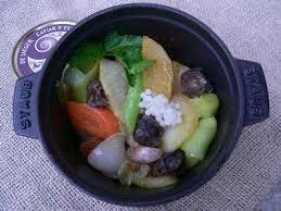 escargot cuisiné recette cocotte de légumes d hiver escargot et caviar 750g