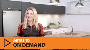 Design A Kitchen Design A Kitchen Mitre 10 Dream Zone Youtube
