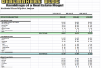 Small Business Tax Spreadsheet by Realtor Expense Tracking Spreadsheet