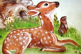 childrens painted wall murals cathie s murals childrens painted wall murals deer