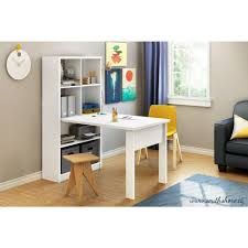 Home Office Furniture Auburn South Shore Annexe 2 In 1 Piece Pure White Office Suite 7250a1